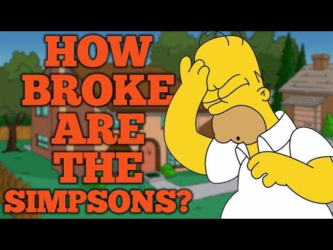 How Broke Are The Simpsons? Feat: PhantomStrider