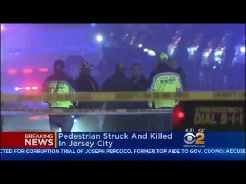 Pedestrian Fatally Struck In Jersey City