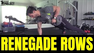 How To Do Renegade Rows with Dumbbells & Kettlebells - A Top Strength Exercise for Fat Loss