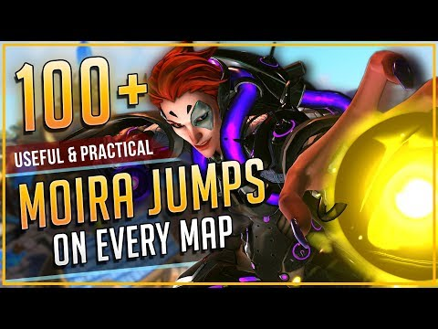 100+ USEFUL MOIRA FADE JUMPS on EVERY MAP