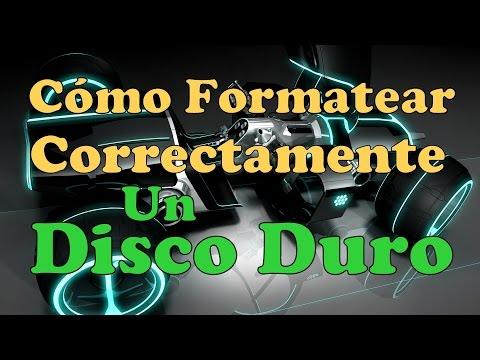 Formatear Disco Duro Externo Programa Para formatear Un Disco Duro Externo Facil 2015
