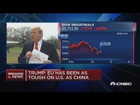 President Trump: European Union has been as tough on U.S. as China