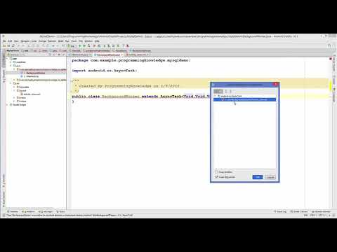 Android MySQL Database Tutorial 2    Android Login with PHP MySQL