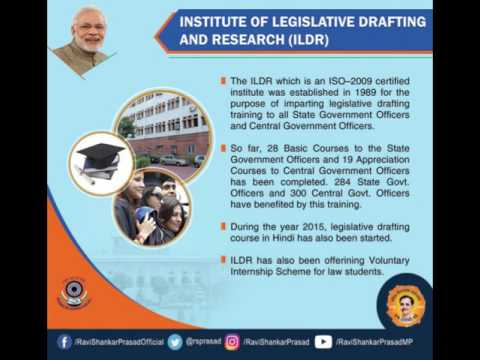 Achievements of Ministry of Law & Justice during 3 Years of Govt