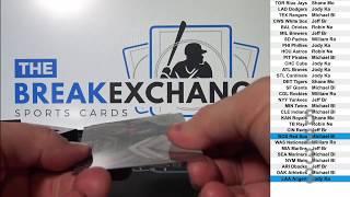 2017 Bowman High Tek Baseball 1-box break! (Break ID: 5233)