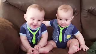 Twins Baby Videos 😛 😜 😝 Best Videos Of Cute and Funny Twin Babies Compilation 👉🏽 Funny Baby Video🧸