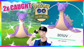 LIVE🔴 SHINY LAPRAS & SHUCKLE HUNT! QR CODE GAMEPLAY Safari Event in Pokemon Go! 💚💯