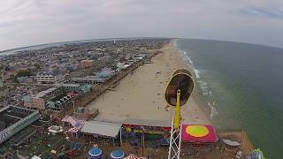 Video Seaside Heights Casino Pier Post Hurricane Sandy Boardwalk Ride From Drone download MP3, 3GP, MP4, WEBM, AVI, FLV Agustus 2018