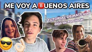 MI PRIMER DÍA EN BUENOS AIRES *como estudiante*