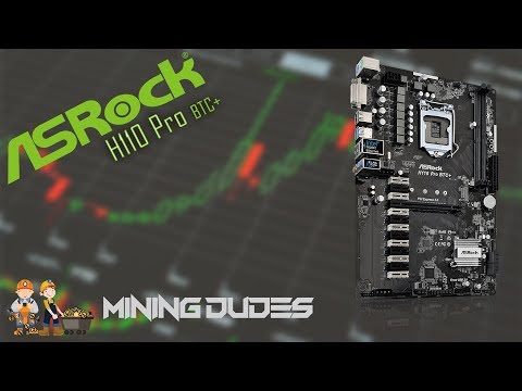 Best Mining Mobo? ASRock BTC+ H110 Mother Board Review- Mining Dudes