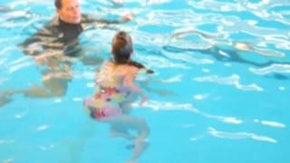Hallie swimming 2014 short