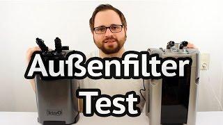 Aquarium Außenfilter Test - Tetra EX 800 Plus vs. JBL e901 greenline