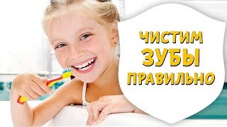 Как правильно чистить зубы ребенку | Урок гигиены полости рта | Доктор Д | Дентал ТВ