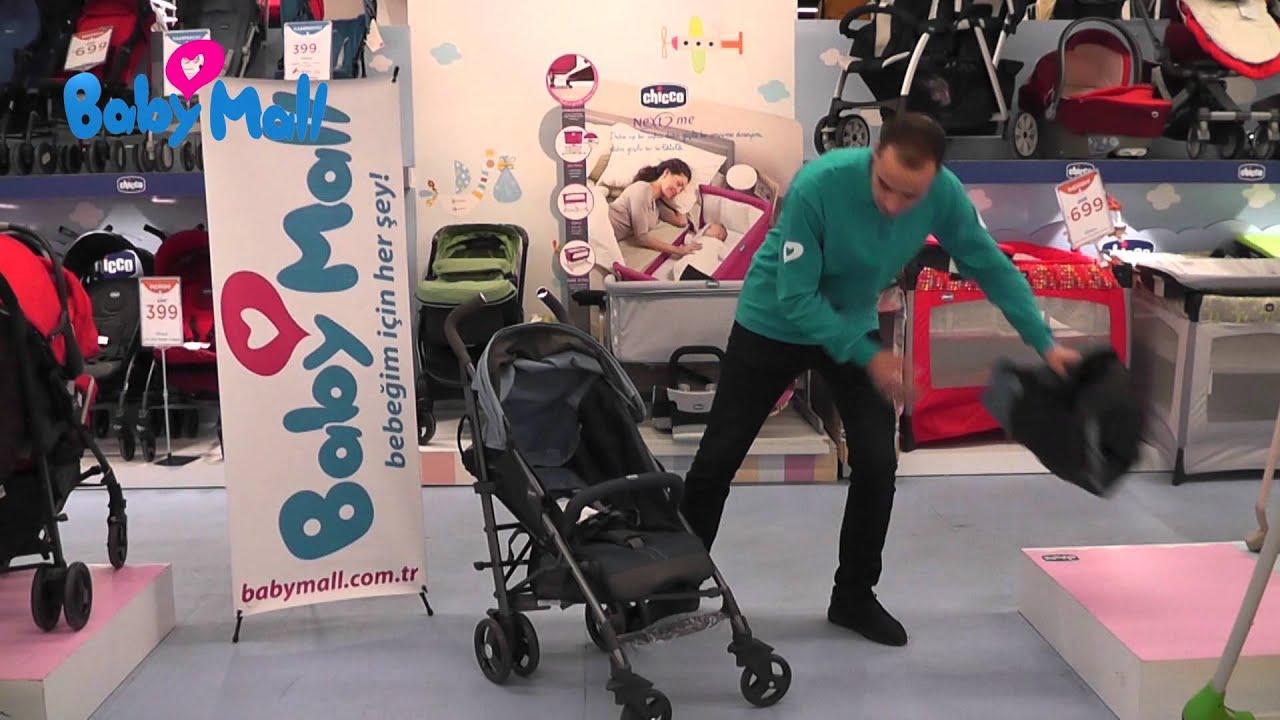 dd0ffc84b79 Chicco Lite Way Bebek Arabası 2 Ürün Tanıtımı | BabyMall - YouTube