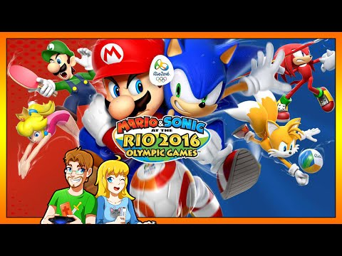 Mario & Sonic at the Rio 2016 Olympic Games Kwing VS Kwife All Events