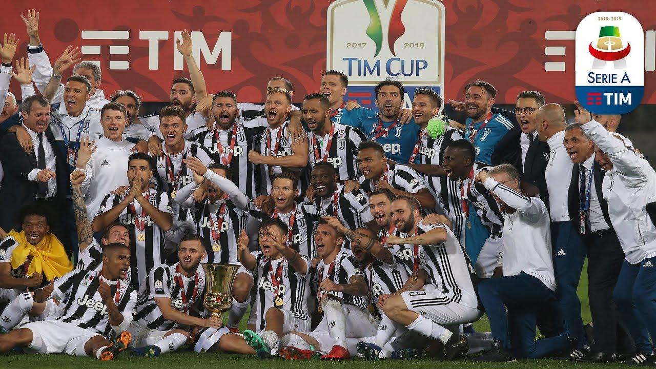 La finale di Coppa Italia   Serie A TIM 2017/18 - YouTube