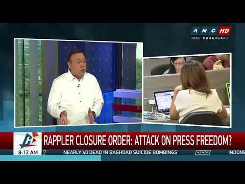 Rappler journalists can still publish stories: Duterte spokesman