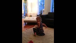 My three year old loves interpretive dance