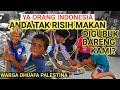 YA ORANG INDONESIA!! TAK RISIH MAKAN DIGUBUK KAMI?