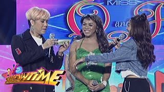 It's Showtime Miss Q & A: Nadine Asks Vice To Calm Down