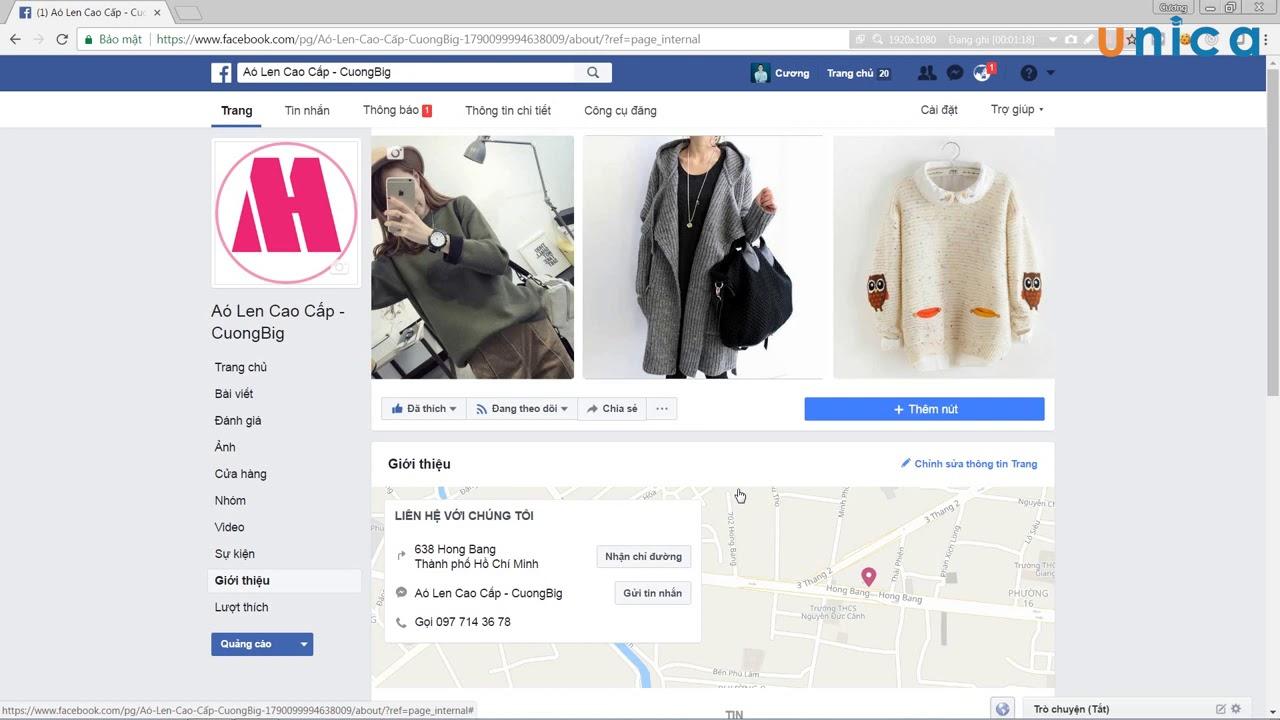 Học Facebook Marketing từ A – Z miễn phí (Bài 07)