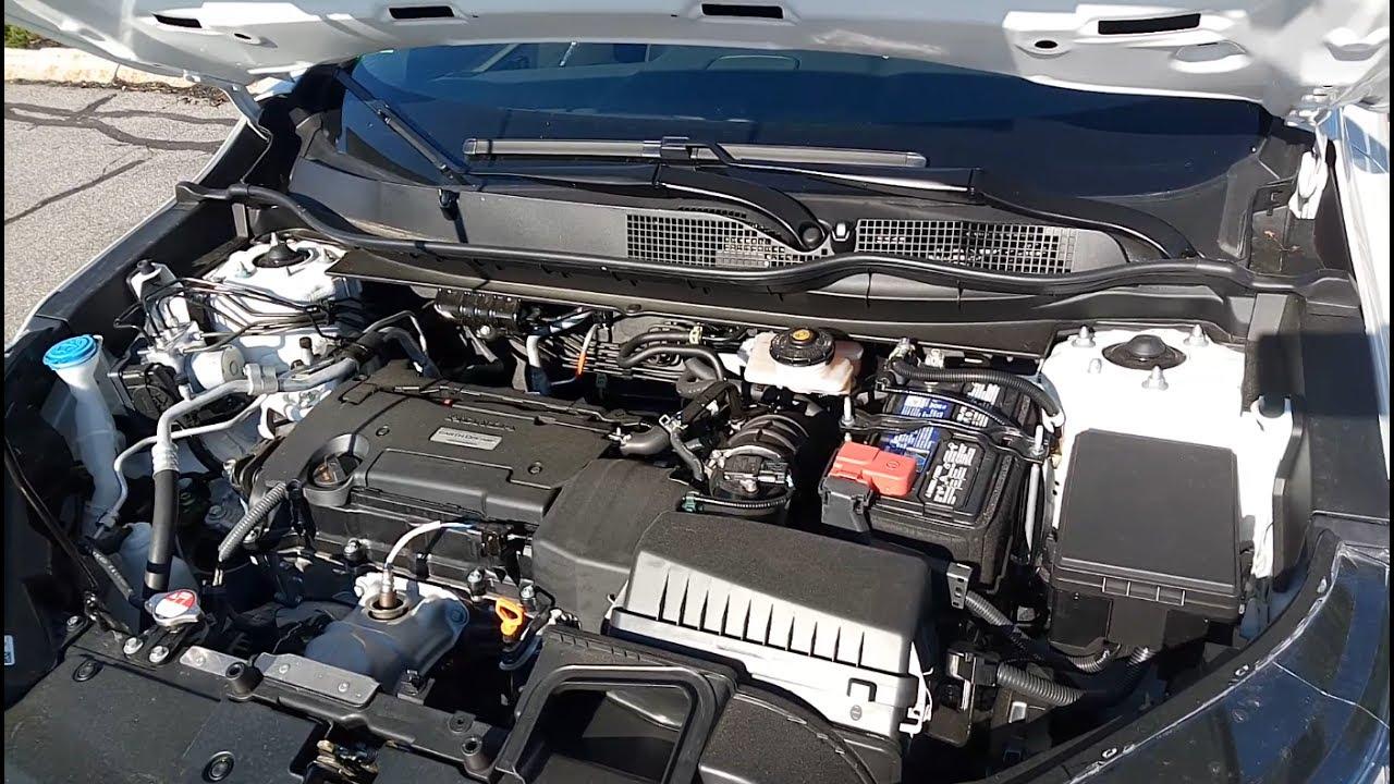 2017 Honda Crv Engine View Under The Hood