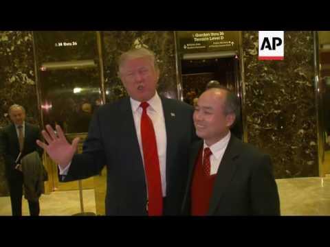 Trump: Japanese Billionaire To Invest $50B In US