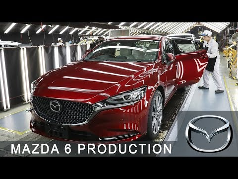 Mazda 6 Production at the Hofu Plant, Yamaguchi, Japan