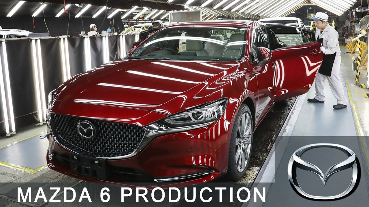 mazda 6 production at the hofu plant, yamaguchi, japan - youtube
