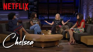 Tracee E. Ross, Rosario Dawson, & Aisha Tyler on Speaking Out (Full Interview) | Chelsea | Netflix