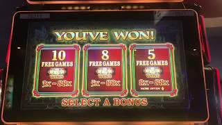 88 Fortunes 3 Reel Video Slot Machine—5 Bonuses $8.80 max bet