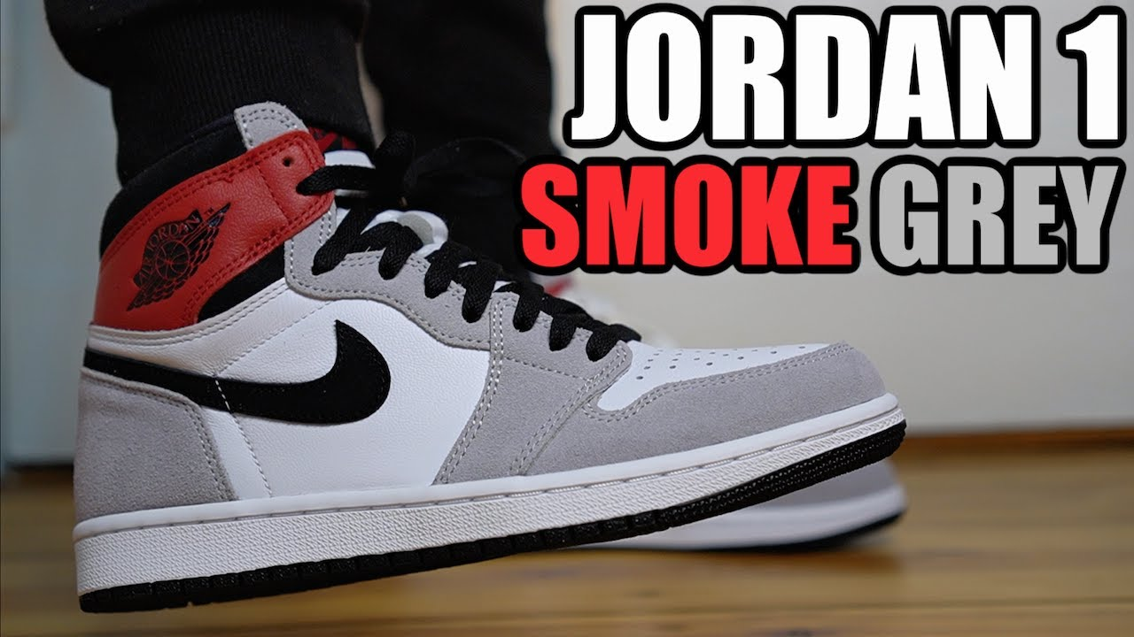 AIR JORDAN 1 SMOKE GREY REVIEW & ON FEET + RESELL PREDICTIONS
