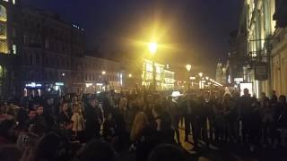 Уличные музыканты СПБ. Май 2017