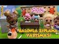 Kıvılcım ile Selin Balonla Zıplama Yarışı | Selena Lol Bebek 8. Bölüm Oyuncu Sobi