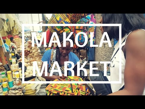 Back to MAKOLA MARKET! Apartment Tour, Ghana 2018