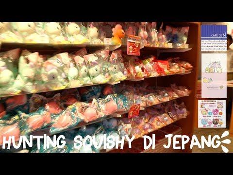 ADELVLOG #19 -  HUNTING SQUISHY DI TOKYO BARENG GAMERS | Adel Ivanka