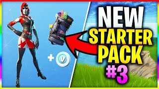 "*NEW* Starter Pack 3 ""THE ACE"" in FORTNITE! (Fortnite NEW Starter Pack Skin - How To Get)"
