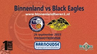 Binnenland Heren 1 vs Black Eagles