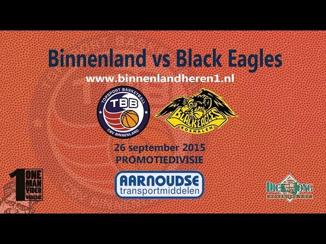 Binnenland Heren 1 vs Black Eagles