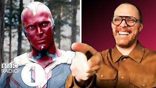 """I'm purple!"" WandaVision's Paul Bettany on becoming Vision, dying twice and being ""Naked guy!"""