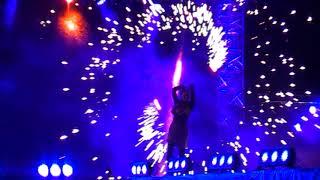 Групповое огненное шоу в Перми 2018!!!заключительная часть