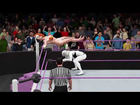 WWE 2K17 Wonder Woman vs. Lady Death - Epic Bikini Submission Match