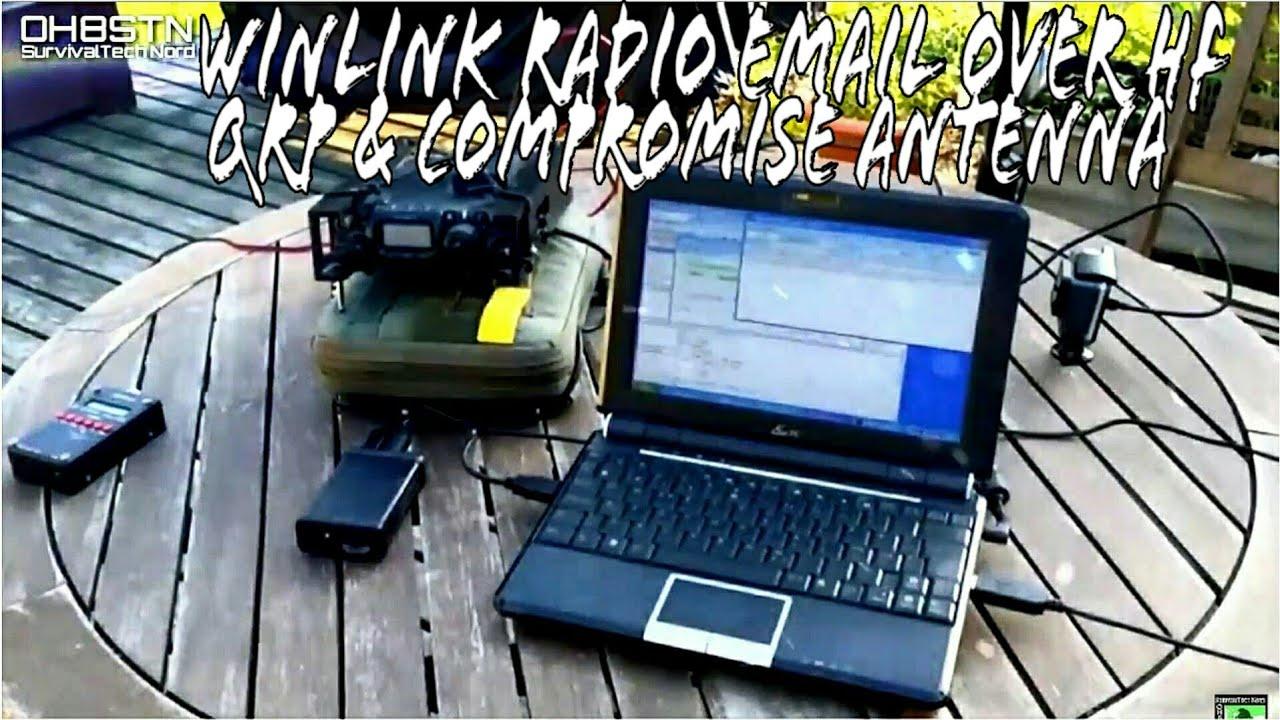 WinLink Ham Radio Emergency Communications Compromise Antenna