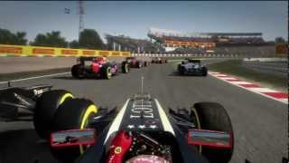F1 Grosjean VS Webber Crash Japan GP F1 2012