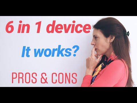 6 in 1 BEAUTY device.  #GLOW RF 6 en 1 #radiofrequency  #EMS  #ultrasound #electroporation #RF #6in1
