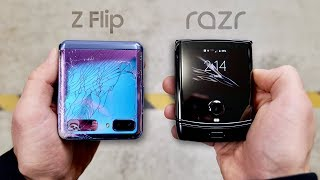galaxy Z Flip vs Fire🔥 | Drop Test | Waterproof Test and more