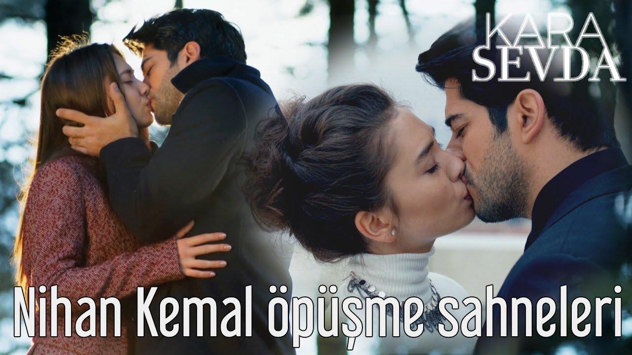 Download Kara Sevda - Nihan & Kemal Öpüşme Sahneleri