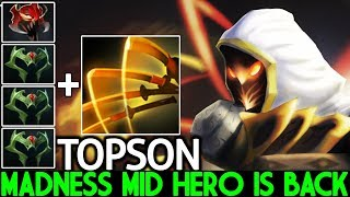 TOPSON [Juggernaut] Madness Mid Hero is Back Full Agi Build 7.24 Dota 2