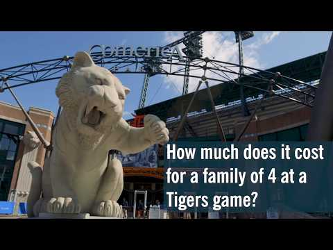 Do you think it's too expensive to take the family to a Tigers game?