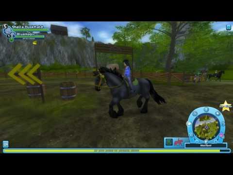 Championnat de Moorland arrivé 1ere avec un cheval magique niveau 1